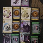 The Victory, Treasure and Curse cards - and the regular Dominion counterpart